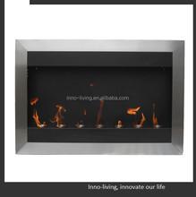 wall mounted electric fireplace ethanol