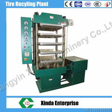 Xinda XLB rubber brick molding machine tyre recycling