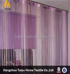 European style curtain Window string curtain with multicolor