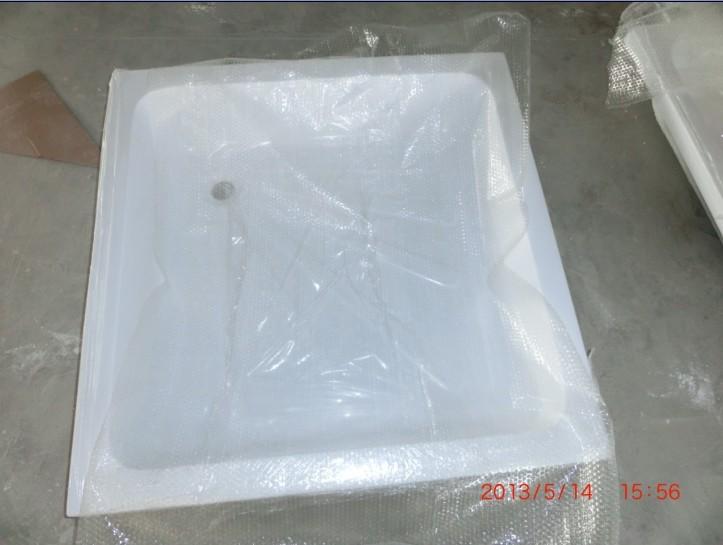 Pas cher en fiber de verre bac douche profonde blanc for Bac de douche pas cher