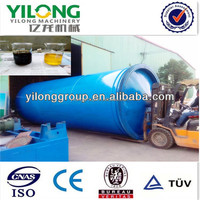 Newest designed car tires to oil pyrolysis machine with ISO9001 CE