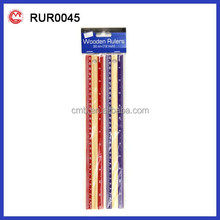 color good quality wooden ruler 30 cm size