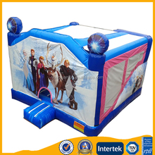 Popular inflatable frozen princess lovely bouncy castle