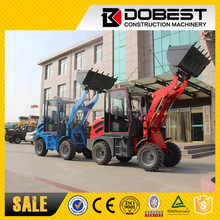 2015 Articulated Mini Wheel Loader ZLY908 - 0.8 Tons Loader Mini - Small Loader