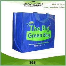 Matt/Glossy Laminated PP Woven Bag For Shopping, carry bag, hand bag