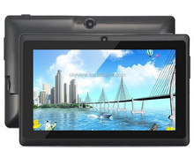 7 inch A23 dual core 512MB RAM 8GB ROM android 4.4 Q88 tablet pc