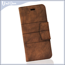 Wallet case cover for iphone 6 for samsung galaxy note edge for samsung galaxy s6,phone case factory in china