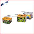PC /PP Recipiente Retangular de Armazenamento de Alimentos