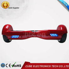 China Factory Smart Balance Wheel 2 wheel hoverboard electric balancing scooter free shipping with Lights