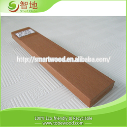high quality rubber wood finger joint lamination board and terrace decking