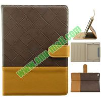 Dual Color Leather Cover for iPad Air Case