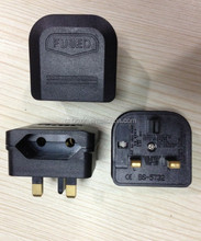 2015 Wholesale cheap eur to uk power converter travel adapter CE