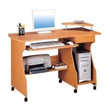 Mobile wooden office furniture desktop computer desk