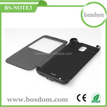 3800mah external battery power case for samsung galaxy note 3