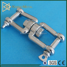 304 / 316 Stainless Steel Jaw and Jaw Swivel With Screw Pin
