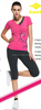 2014-2015 Fashion Stretch Melange Fitness Wear