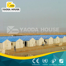 Foshan portable prefab slope roof house for kenya