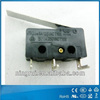 5A250V ENEC CQC TUV cUL T105 changeover NO NC snap-action switches waterproof micro switch with ROHS and REACH