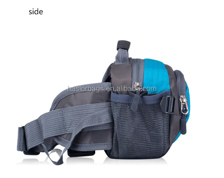 2015 promotion du sport en plein air bandoulière sac de taille