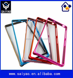 2015 Best Selling metal aluminum cell phone frame bumper case for Sony Ericsson Z2