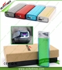 Flight approval no flame cigarette lighter usb metal electronic arc lighter with gift box