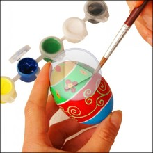 educational diy painting eggs for kids,blank diy painting eggs,educational blank painting toys with watercolor