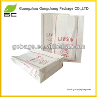 Eco-friendly food packing kraft materials small paper bags