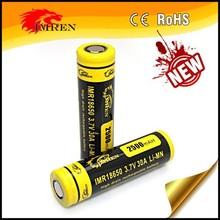New arrival 3.7V high drain rechargeabel li-mn battery IMREN 18650 30A battery IMREN 18650 2500mAh 30A PK VTC5 from IMREN,18650