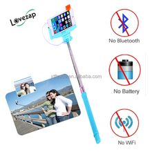 factory price hand hold tripods legoo cable selfie stick