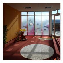 Children room decor shaggy felt ball area rug