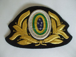 Cap badge, Hand Embroidery Cap Badge, Military cap badge, embroidery patch