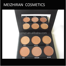 for professional make up artists big makeup powder six shades compact pallet