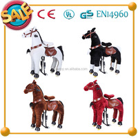 2015 HI EN71 hot sale toy Amusement Horse Scooters Toy,horse Type Amusement Toy,horse Type and Ride On Toy Style kid riding hors
