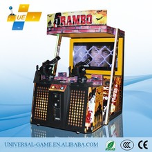 Rambo Playing Shooting Gun Simulator Game Machine/Army Games