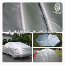 100% Polyester Silver Coated Taffeta and Oxford Fabric