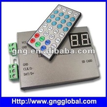 load capacity 4096 pixels rgb digital led strip controller