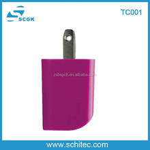 Mobile phone accessories travel charger factory