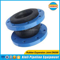 Single rubber expansion joint