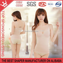 Strong Pressure Knitted Tighten Belly Nylon Lady Seamless Underwear For Women