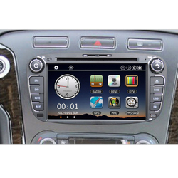 "High quality 7"" Car DVD Player Bluetooth GPS Navigation Car Video Radio 2 Din PC Stereo Head Unit"