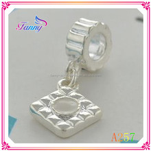A257 Metal DIY Jewelry Beads Lovely Jewelry Bead With Pendant Jewelry Findings & Components