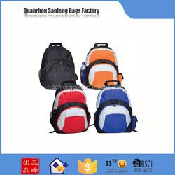 Novelties wholesale china custom waterproof backpack and canvas backpack