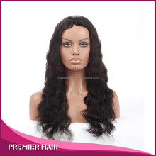 24 Inch Virgin Malaysian Hair Full Swiss Lace Human Hair wig with silk top