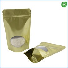 Moisture Barrier Aluminum Foil Bag with Zip Lock for Pure Pearl Powder