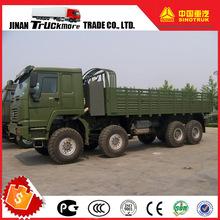 SINOTRUK HOWO ZZ2307S35 8x8 All Wheel Drive Cargo Lorry Truck Off Road Sand Transport Truck