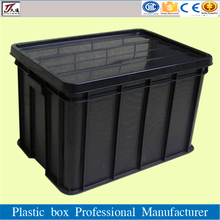 jinan jiutong warehouse storage plastic container with lid china supplier