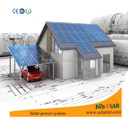 excellent electrical character 100wp solar pv panel