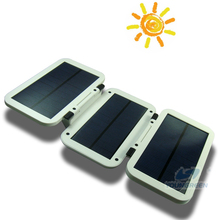 Outdoor Powered Solar 6000mAh Rechargeable Battery Pack with CE