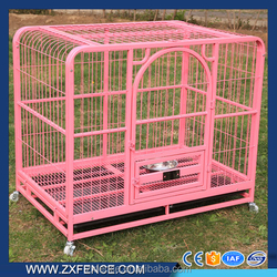 Factory supply beautiful hot galvanized and pvc metal dog kennel fence panel