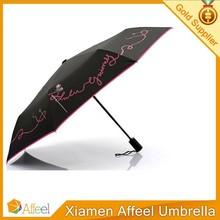 Fully-Automatic Umbrella 3 Fold Sunny And Rainy Umbrella For Rain Umbrella High Quality Both Man And Women's